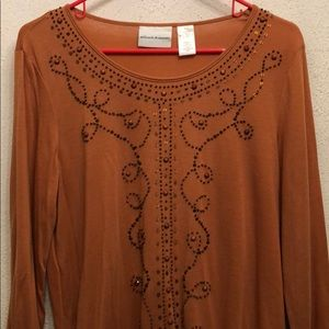 NWT Alfred Dunner Tunic S
